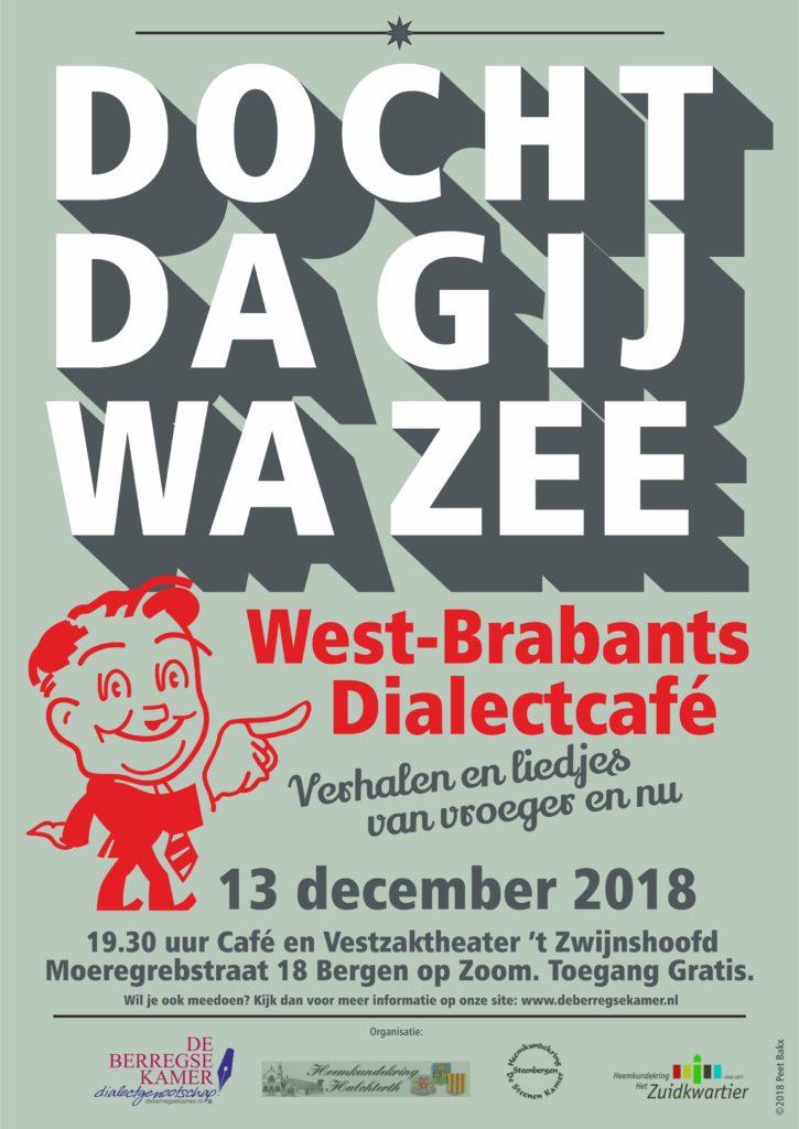 Poster Dialectcafé